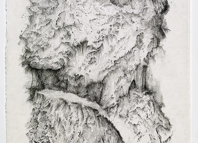 Zea Morvitz, Rathlacken, Ballpoint pen and graphite on paper