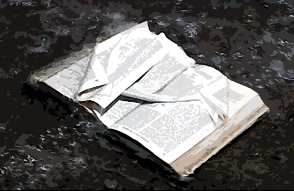 Tim Graveson, Book-Turned, archival print