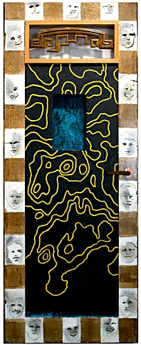 Will Thoms, Door with 18 Boys' Faces