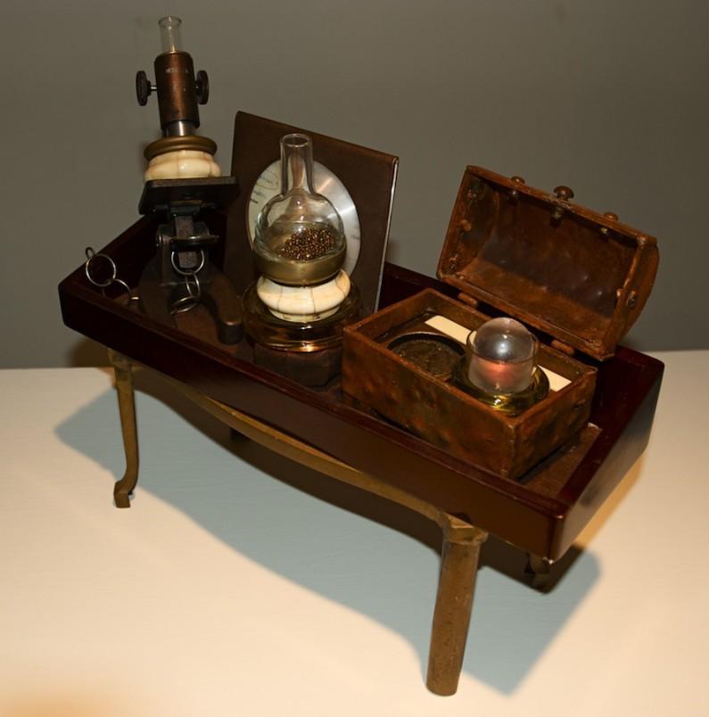 Betty Woolfolk, Experimentation: science kit