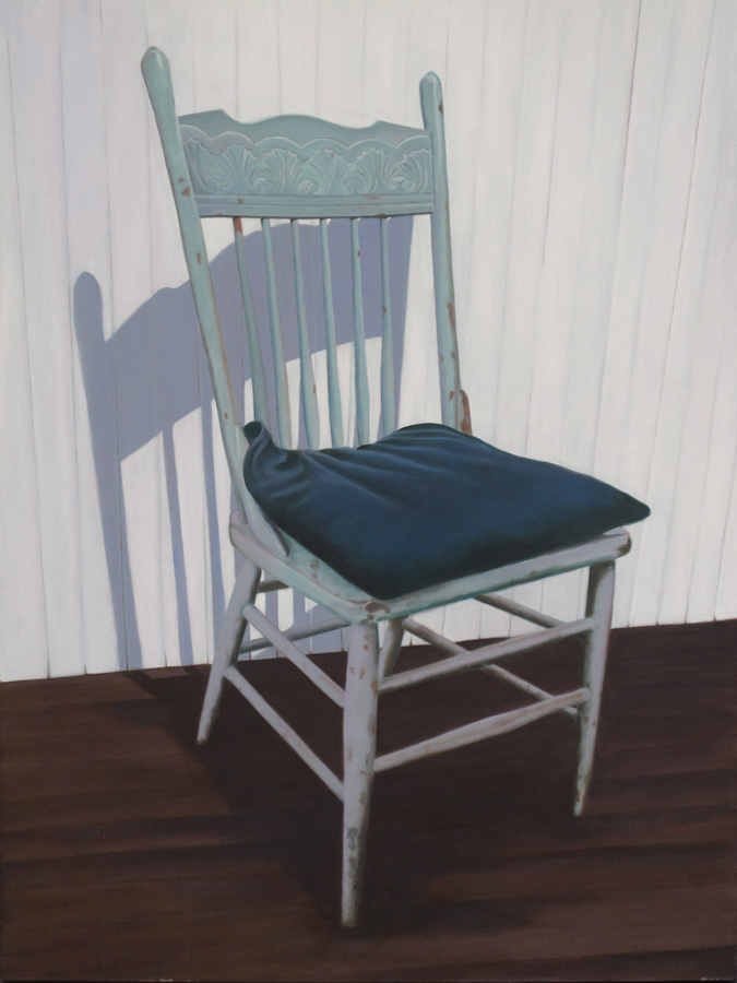 Candace Loheed, Aqua Chair