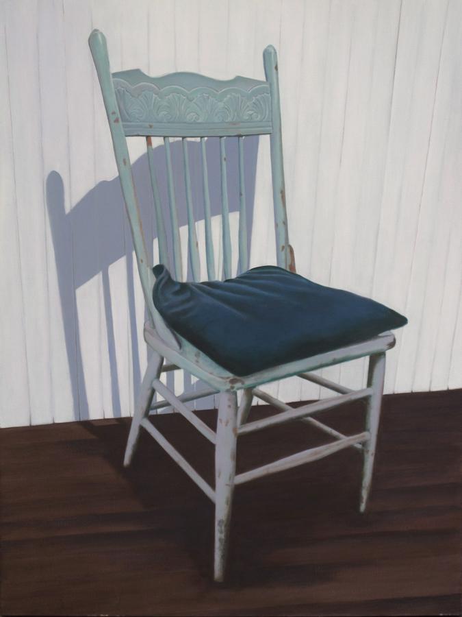 Candace Loheed, Aqua Chair