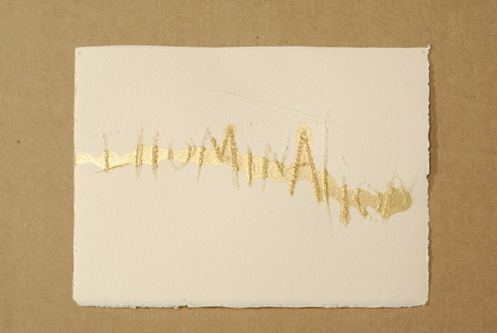 """Diana Marto, Illumination, Sacred Texts Series, 2010 3x5"""""""