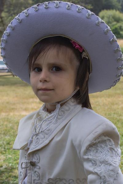 Juanita Romo, La Vaquera Angelical (Angel Cowgirl)