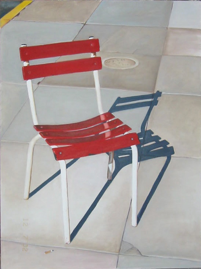 Candace Loheed, Portrait of a Red Chair