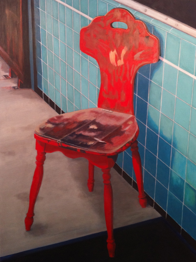 Candace Loheed, Red Chinatown Chair