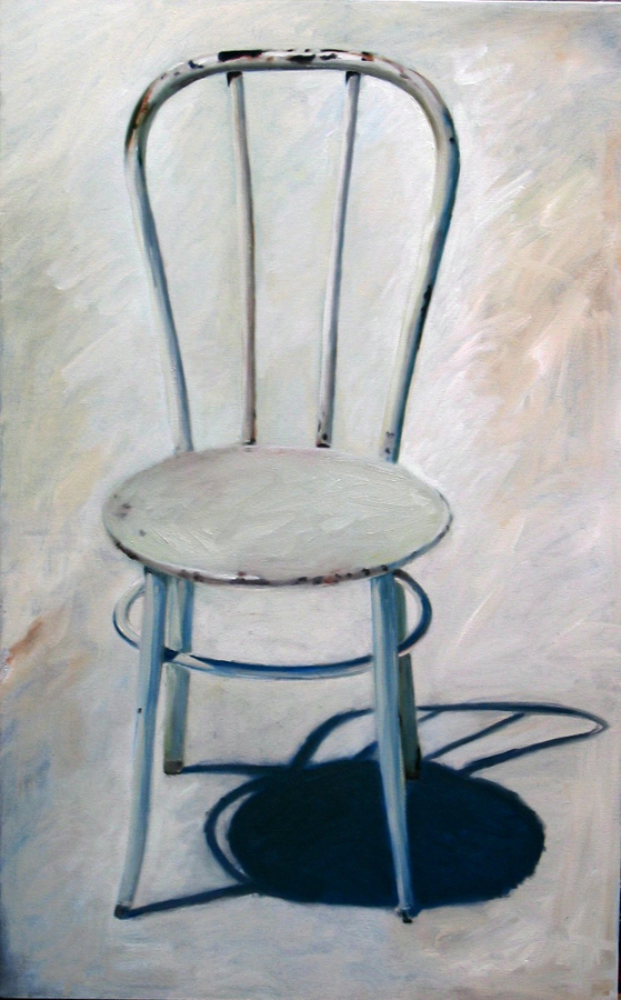 Candace Loheed, White Chair