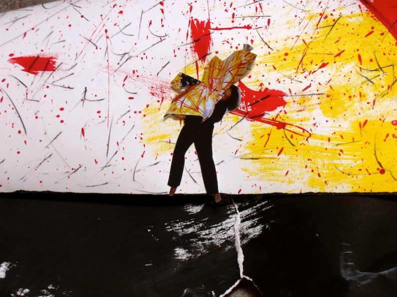Diana Marto Dances In Paper 2