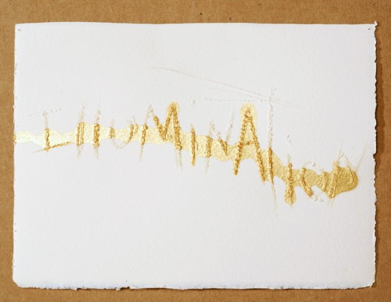 Diana Marto, Illumination, Sacred Texts Series, 2010 3x5