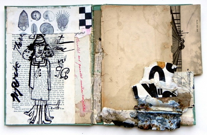 Dorothy Nissen, Inquire at Nine, altered book