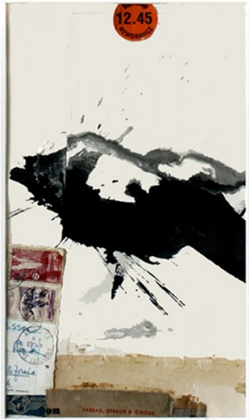 Dorothy Nissen, Message, Mixed Media on Paper, 15.5 x 22 framed, 2010