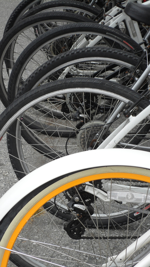 Geraldine LiaBraaten - One yellow tire