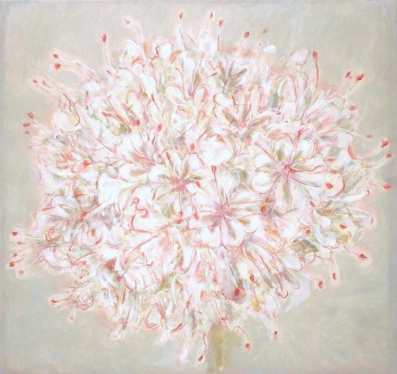 Patti Trimble, Cushenbury Buckwheat, oil on linen, 36
