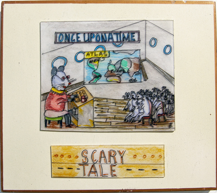 Andrew Romanoff Scary Tale-shrink art