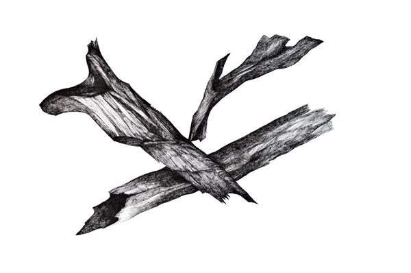 Zea Morvitz-Crossed Sticks