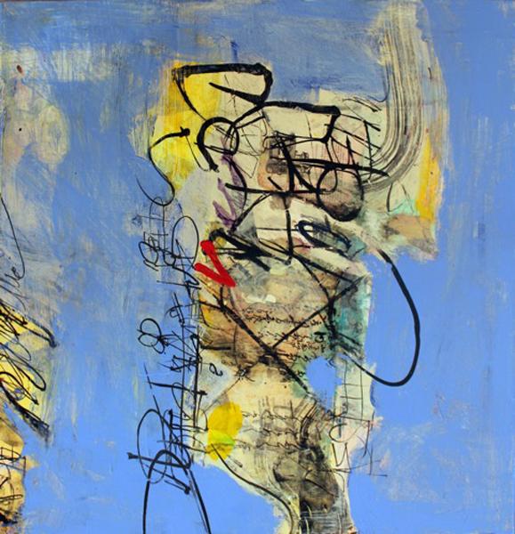 Dorothy Nissen, The Peripheral Brain, mixed media
