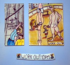 Andrew Romanoff, WorkOut