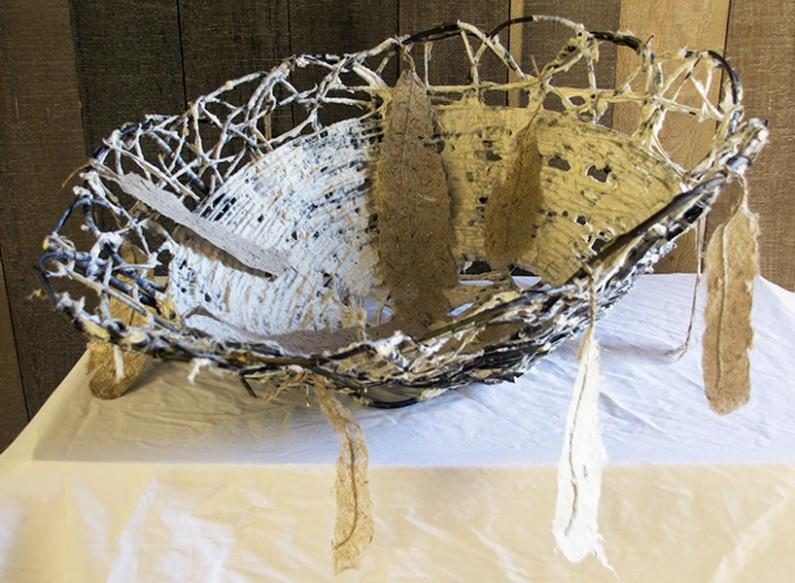 Jane Ingram Allen, Large Willow Nest