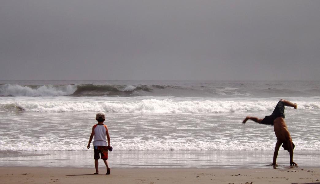 Maria Mercado, Day at Beach