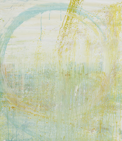 Airiel Mulvaney, Dawn 2, acrylic on paper, 42x36 ins