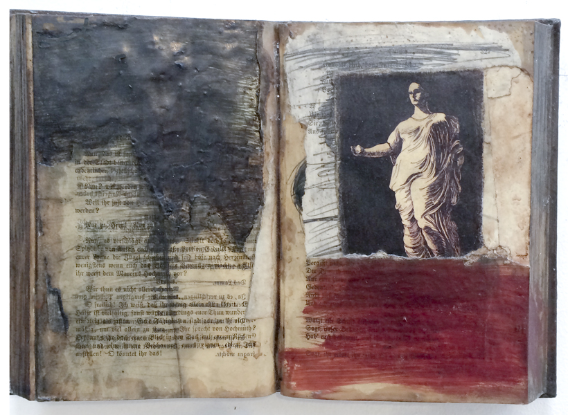 Zea Morvitz, Prepared Book with Cult Goddess