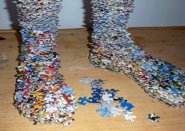 Laurie Sturdivant, Puzzle Sculpture 006