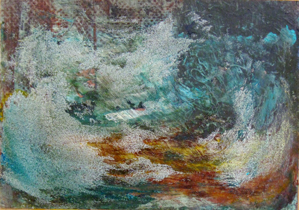 Suzanne Parker, Painted Photo # 2