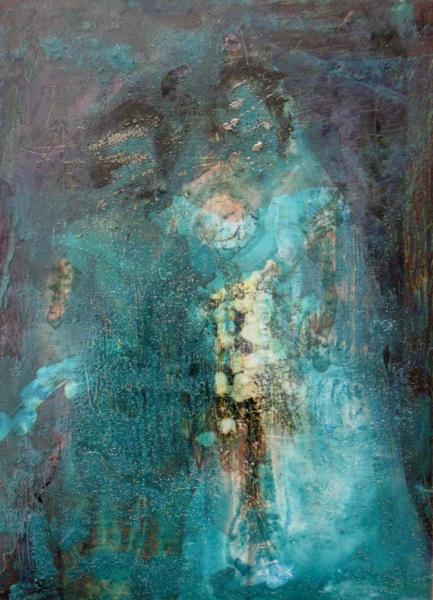 Suzanne Parker, Painted Photo # 3