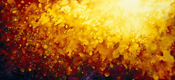 Johanna Baruch Helios Oil on_panel_35x65