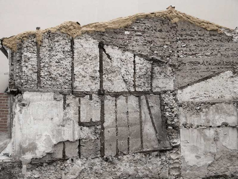 Germán Herrera, Home structure, 2012, pigment on paper