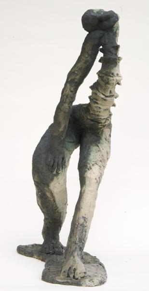 Mimi Abers, Still Dancing, clay, 28x16x10 ins