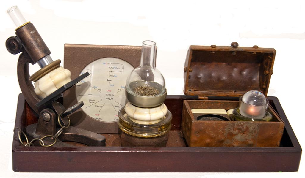 Betty Woolfolk, Saturation Experiment Kit, mixed media