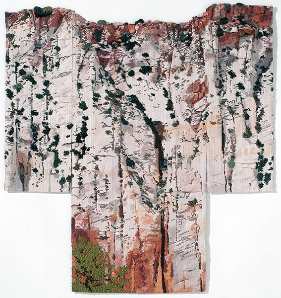 George-Ann Bowers, Over the Edge, 6x6