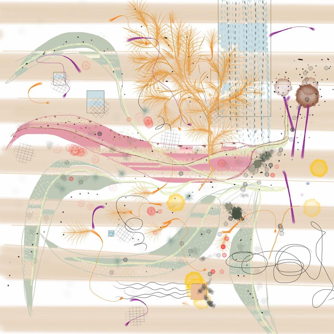Candace Loheed, Curvasive, 16 x 16 giclee
