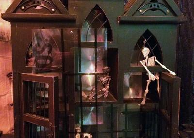 Betty Woolfolk, Skeleton Room, detail