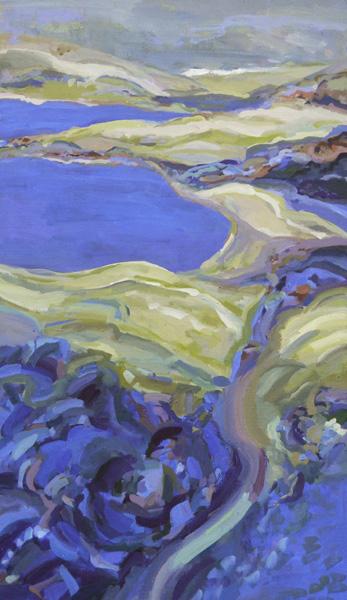 Kathy Piscioneri, Abbots Lagoon, 38x22