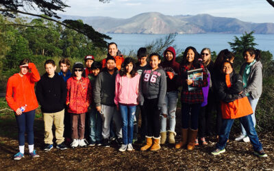 Sixth Grade class visits the Legion of Honor