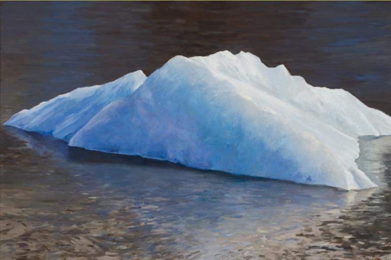 Sukey-Bryan-Iceberg two-oil-on-linen