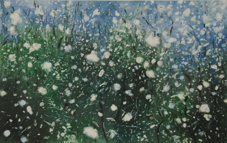 Sukey Bryan-Wet-snow-4-monotype- 23x30