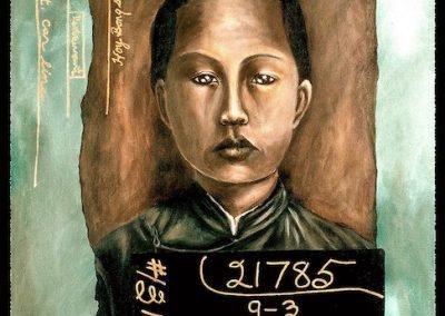 Cynthia Tom, Hom Shee Mock, 1923, acrylic on canvas