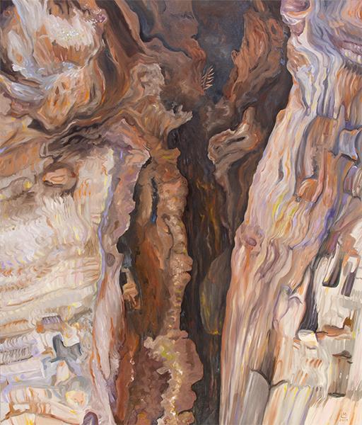 Linda MacDonald, Flight, oil, 40 x 34