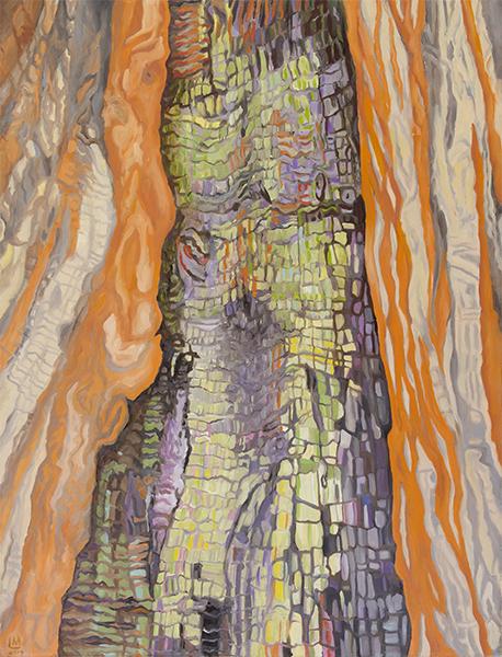 Linda MacDonald, Specter, oil, 30 x 22