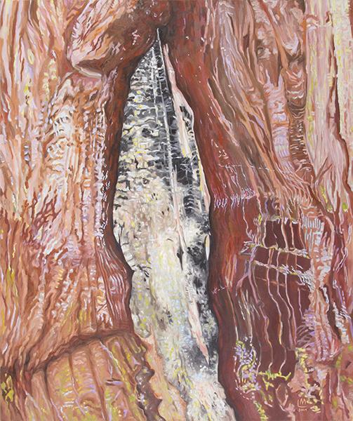 Linda MacDonald, The Blade, oil, 36 x 30