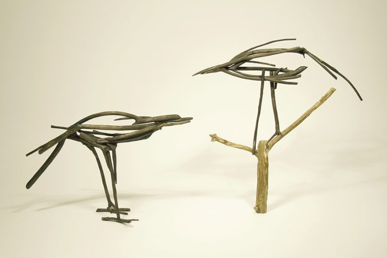 lorna-stevens-huia-sculpture-14x28x10