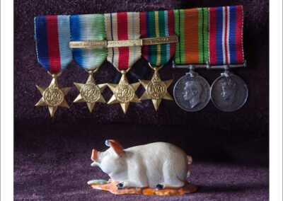 Andrew Romanoff, Pig and Medals