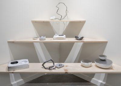 Rachelle Reichert, Backward Future installatioin, 2017