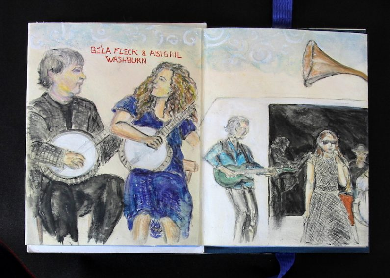 Vickisa, Bela Fleck and Abigail Washburn