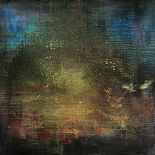 Yari Ostovany, Arbour Zena_2_for_Keith Jarrett, oil on canvas, 36x35in