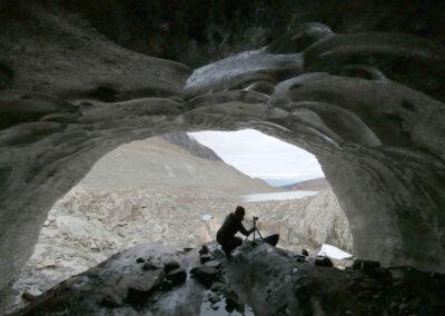 Point Guild, Under Glacier, Field Documentation