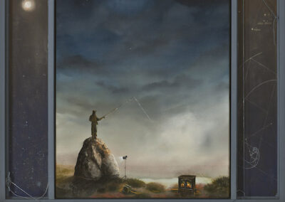 Thomas Gehrig, Rock Fishing By Moonlight